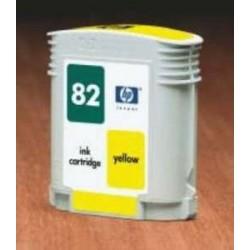 Tinteiro Compativel Amarelo Nº82