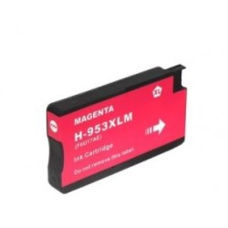 Tinteiro Compatível Nº953XL Magenta para HP OfficeJet Pro 8700 / 8715 (F6U17A)