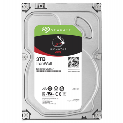 "HDD 3TB IronWolf 3.5"" Sata 6Gb/s"