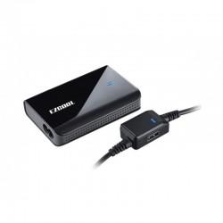 Adaptador AC EZCOOL slim 90W w/USB - AD-880