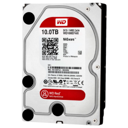 HDD 10TB WD RED 256mb cache 5400rpm SATA 6gb/s 3.5""