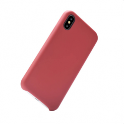 Nature Silicone Case iPhone XS/X - Red