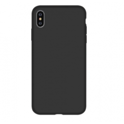 Nature Silicone Case iPhone XS/X - Black
