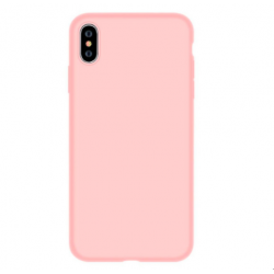 Nature Silicone Case iPhone XS Max - Pink