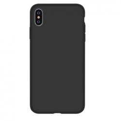 Nature Silicone Case iPhone XS Max - Black