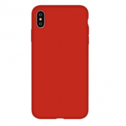 Nature Silicone Case iPhone XS Max - Red
