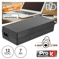Alimentador Switching 12V 7A P/Lcd