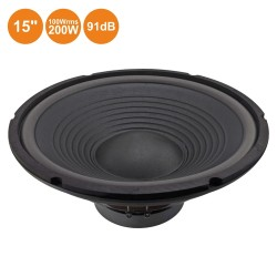 "Altifalante 15"" 200W 8 Ohm"