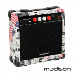 "Coluna Amplificada P/Guitarra 6.5"" 20W Madison"