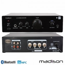 Amplificador Stereo Hifi 2x50W NFC/BT Madison