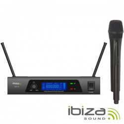 Central Microfone S/ Fios 1 Canal Uhf 864.90mhz IBIZA