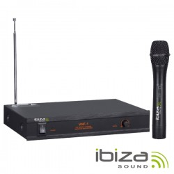 Central Microfone S/ Fios 1 Canal Vhf 203.5mhz IBIZA