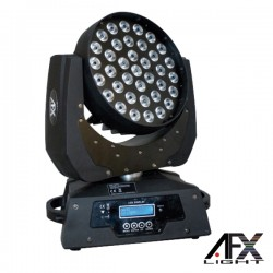 Moving Head 36 LEDS 10W RGBW Ptz DMX AFXLIGHT