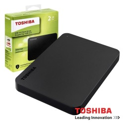 "Disco Externo HDD TOSHIBA CANVIO BASICS 2TB 2.5"" USB3.0"