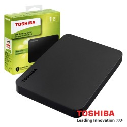 "Disco Externo HDD 1TB 2.5"" USB3.0 TOSHIBA CANVIO BASICS"
