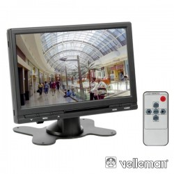 "Monitor Digital Tft-Lcd 7"" C/ Comando Distancia 16:9 4:3"