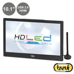 "TV LED Portátil 10.1"" HD Dvb-T TREVI"