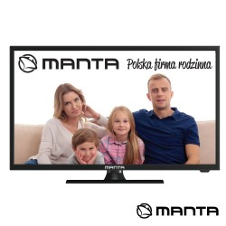 "TV LED 19"" HD HDMI USB Colunas 2X3W 220V/12V MANTA"