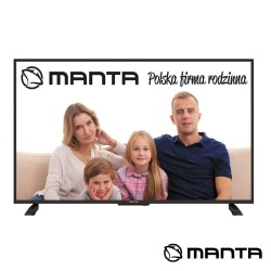 "TV DLED 50"" Ultra HD 3 HDMI DVB-C/T2 2x8W MANTA"