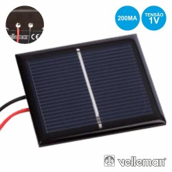 Painel Fotovoltaico 1v 200ma VELLEMAN