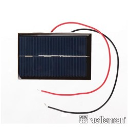 Painel Fotovoltaico 0.5V - 800mA VELLEMAN