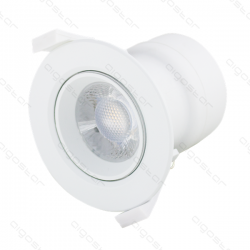 Led E6 Down Light 7W 3000K Adjustable Angle - 101703HYM