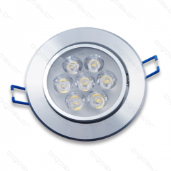 LED DOWNLIGHT 7X1W 3000K