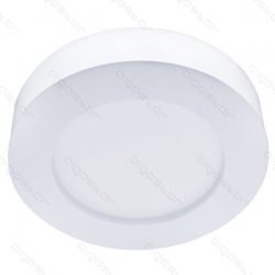 Led E6 Slim Round Ceiling Light 9W 3000K - 101704IQO